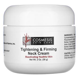 Life Extension, Cosmesis Skin Care, подтягивающий и укрепляющий крем для шеи, 56г (2унции)