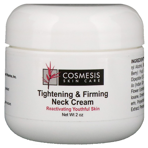 Cosmesis Skin Care, Tightening & Firming Neck Cream, 2 oz