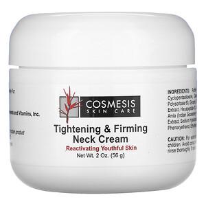 Лайф Экстэншн, Cosmesis Skin Care, Tightening & Firming Neck Cream, 2 oz. (56 g) отзывы покупателей