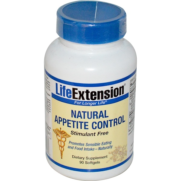Life Extension, Natural Appetite Control, 90 Softgels (Discontinued Item)