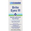Life Extension, Brite Eyes III,  2 Frascos (5 ml Cada)