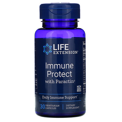 Купить Life Extension Immune Protect with PARACTIN, 30 Vegetarian Capsules
