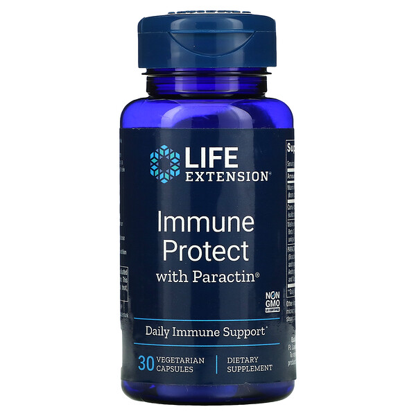 Immune Protect with Paractin, 30 Vegetarian Capsules