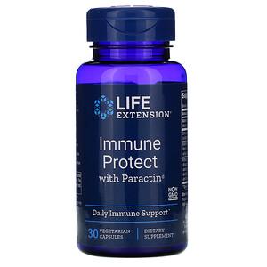 Лайф Экстэншн, Immune Protect with Paractin, 30 Vegetarian Capsules отзывы