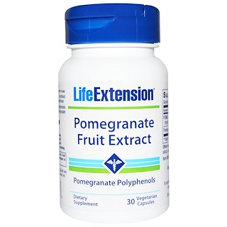 Life Extension, Pomegranate Fruit Extract, 30 Veggie Caps