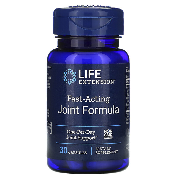 Life Extension, Fast-Acting Joint Formula, 30 Capsules
