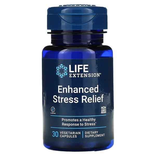 Enhanced Stress Relief, 30 Vegetarian Capsules