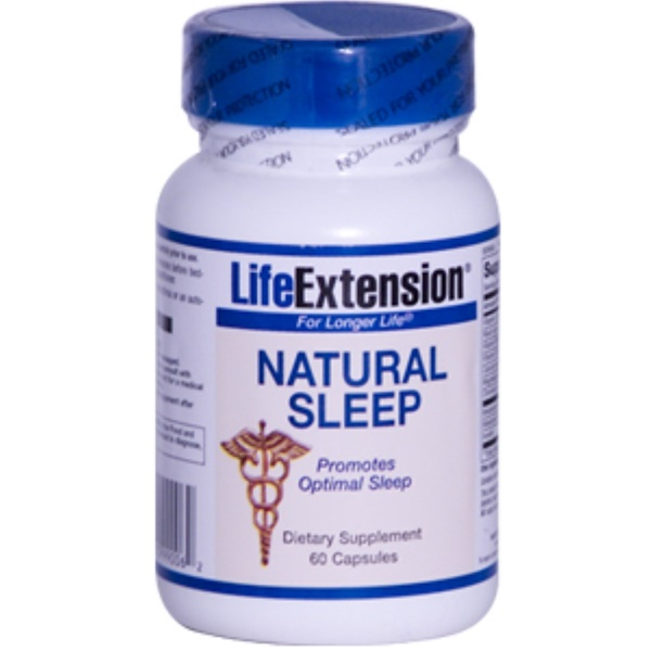 Life Extension, Natural Sleep, 60 Capsules (Discontinued Item)