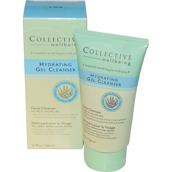 Life-flo, Collective Wellbeing, Facial Cleanser, Hydrating Gel Cleanser, 5.1 fl oz (150 ml) (Discontinued Item)