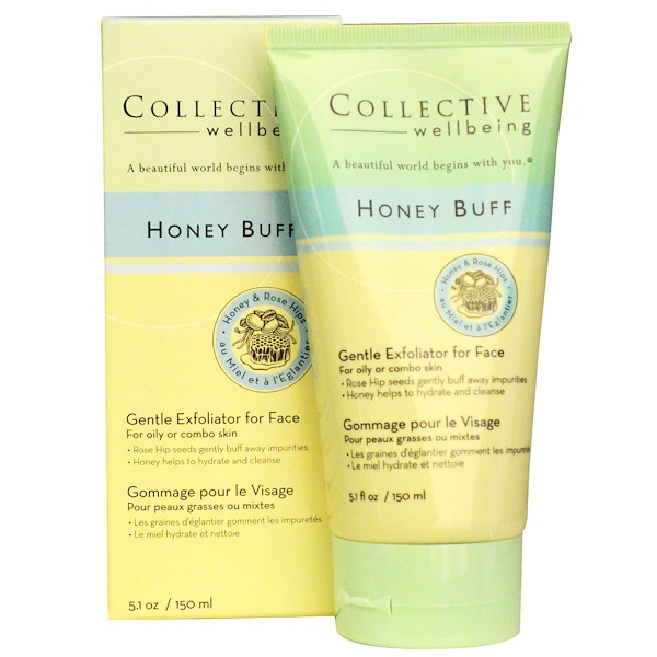 Life-flo, Collective Wellbeing, Honey Buff, 5.1 oz (150 ml) (Discontinued Item)
