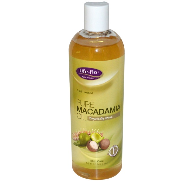 Life-flo, Pure Macadamia Oil, Skin Care, 16 fl oz (473 ml) (Discontinued Item)