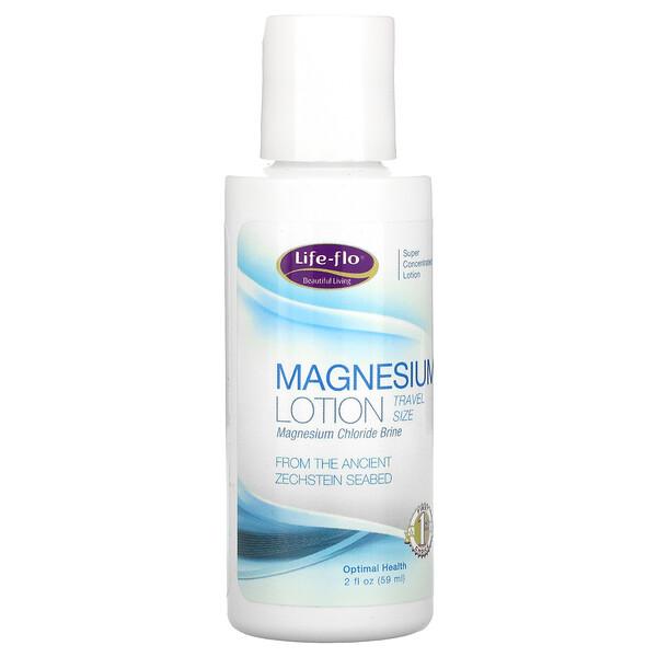 Life-flo, Magnesium Lotion, Travel Size, 2 fl oz (59 ml)