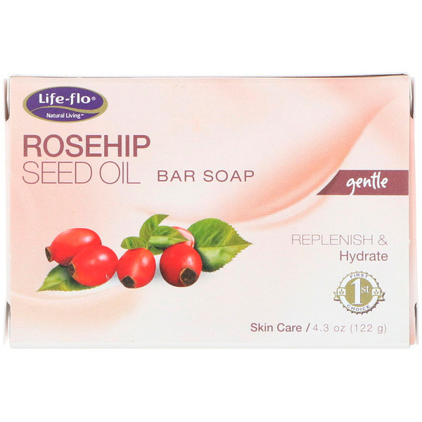 Rosehip Seed Oil Bar Soap, 4.3 oz (122 g)
