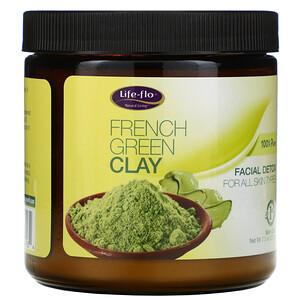 Лайф Фло Хэлс, French Green Clay, Facial Detox, 7.5 oz (213 g) отзывы