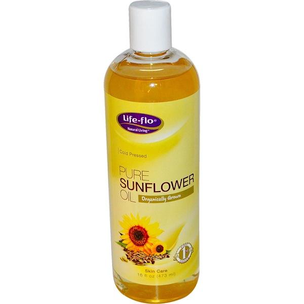 Life Flo Health, Pure Sunflower Oil, 16 fl oz (473 ml)