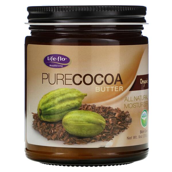 Life-flo, Pure Cocoa Butter, 9 fl oz (266 ml)