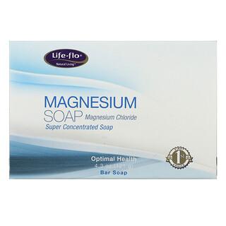 Life-flo, Magnesium Soap, Magnesium Chloride, Super Concentrated Bar Soap, 4.3 oz (121 g)