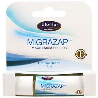 Life-flo, Migrazap Magnesium Roll-On, 7 ml