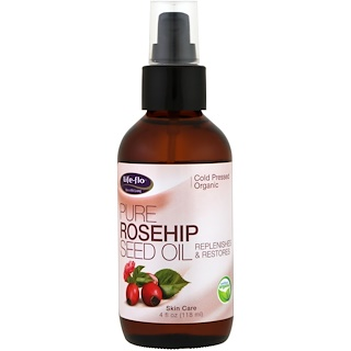 Life-flo, Pure Rosehip Seed Oil, Skin Care, 4 fl oz (118 ml)