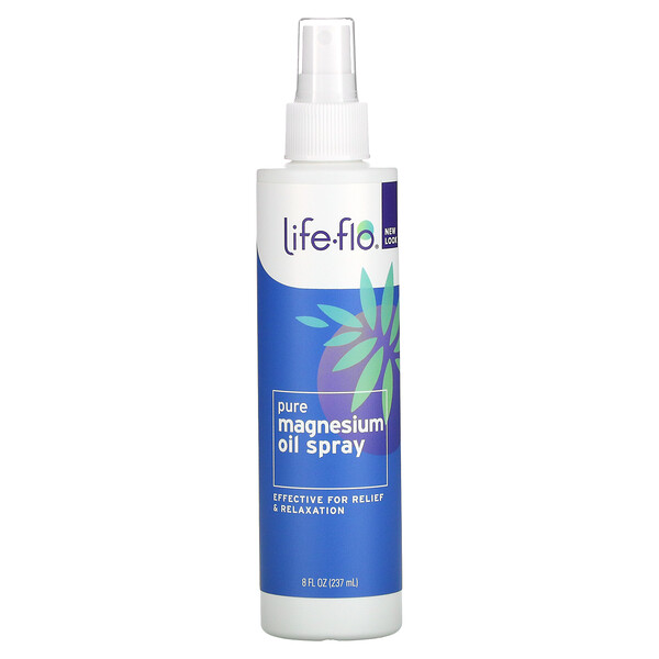 Life-flo, Pure Magnesium Oil Spray, 8 fl oz (237 ml)