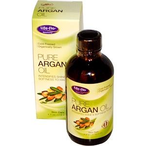 Life Flo Health, Чистое аргановое масло, 4 жидкие унции (118.3 мл)