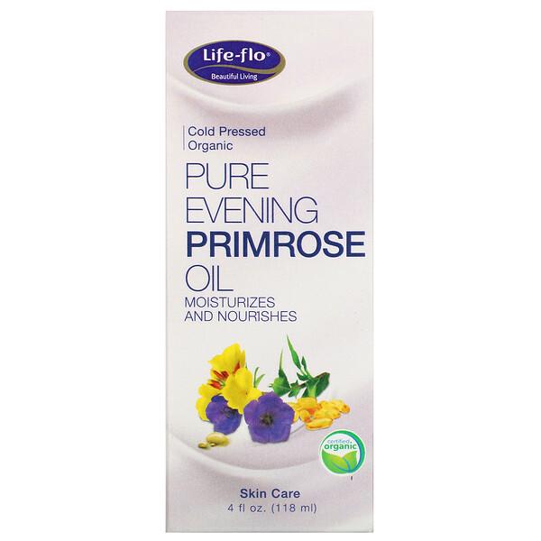 Life-flo, Pure Evening Primrose Oil, 4 fl oz (118 ml)