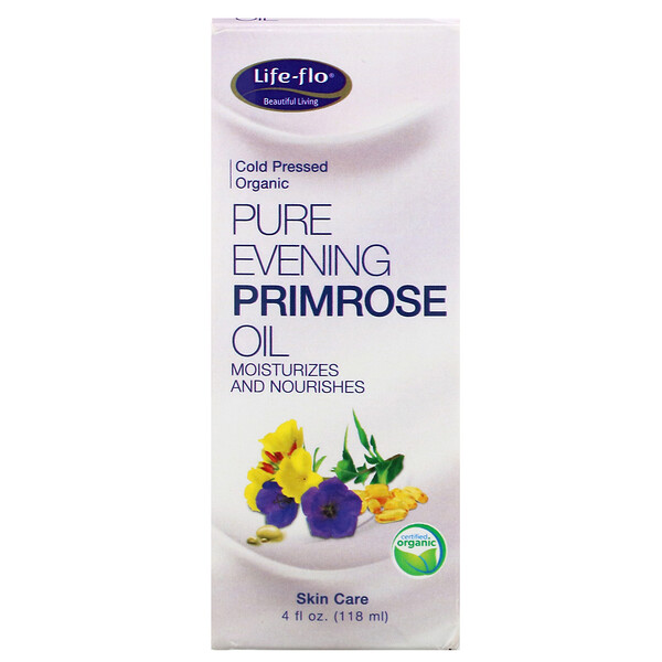 Life-flo, Pure Evening Primrose Oil, 4 fl oz (118 ml)