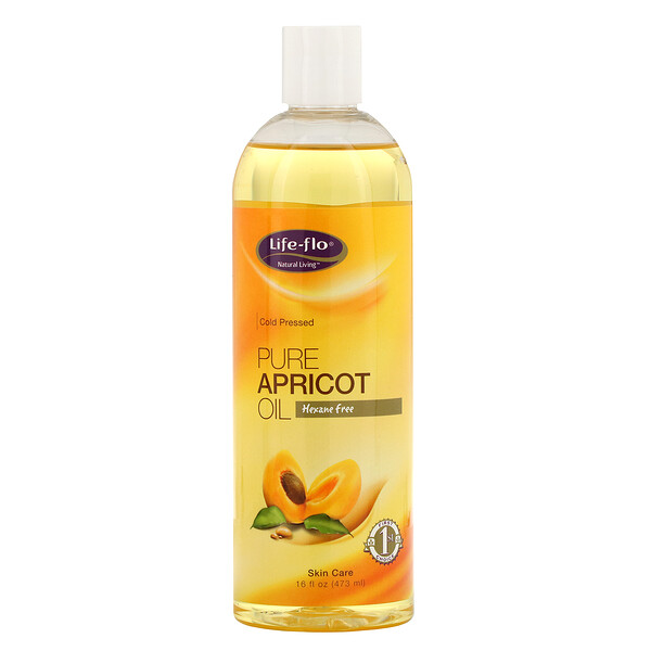 Life-flo, Pure Apricot Oil, Skin Care, 16 fl oz (473 ml)