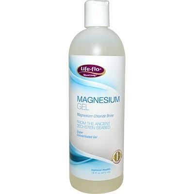 Фото - Магниевый гель, 473 мл (16 жидких унций) чистящее средство от пятен и запаха эвкалипт и лемонграсс 16 жидких унций 473 мл
