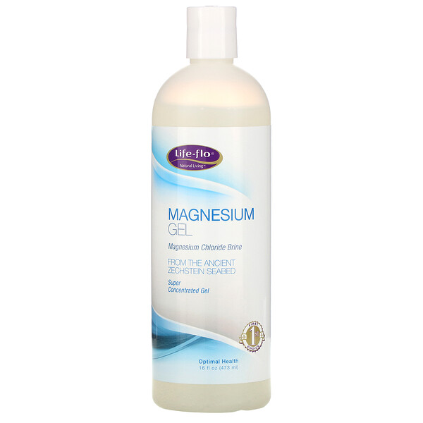 Life-flo, Magnesium Gel, 16 fl oz (473 ml)