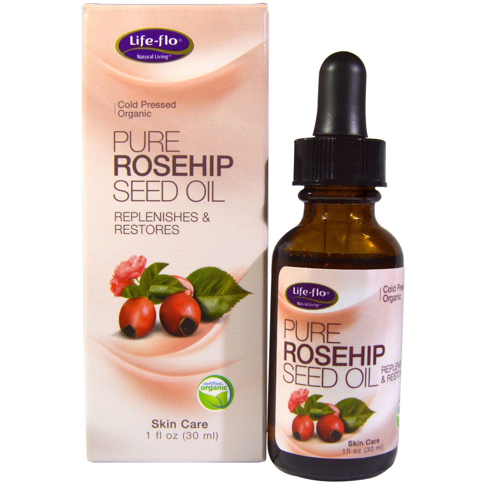 Rose hip oil to solve health problems