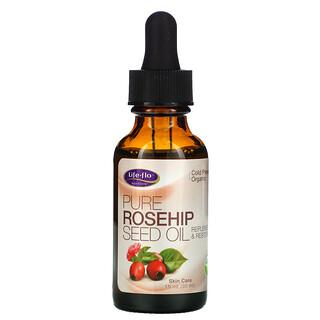 Life-flo, Aceite de semilla de rosa mosqueta puro, Cuidado de la piel, 30ml (1oz.líq.)