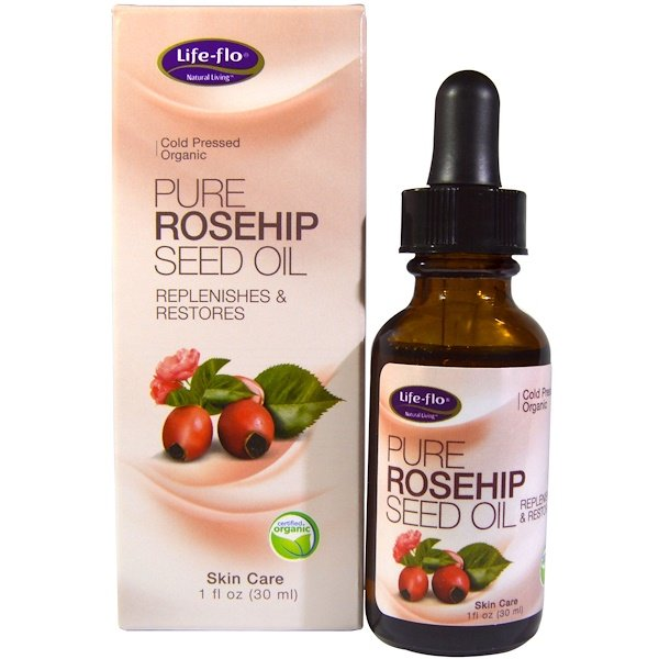 Pure Rosehip Seed Oil, Skin Care, 1 oz (30 ml)