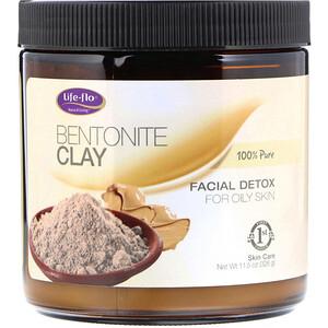 Лайф Фло Хэлс, Bentonite Clay, Facial Detox, 11.5 oz (326 g) отзывы покупателей