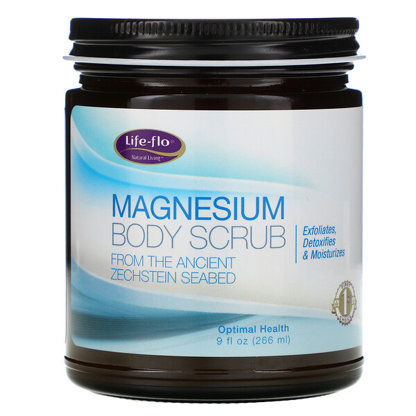 Life-flo, Magnesium Body Scrub, 9 fl oz (266 ml)