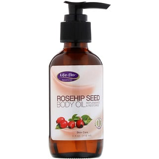 Life-flo, Rosehip Seed Body Oil, Skin Care, 4 fl oz (118 ml)