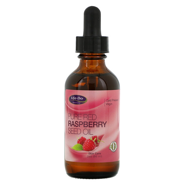 Life-flo, Pure Red Raspberry Seed Oil, 2 fl oz (60 ml)