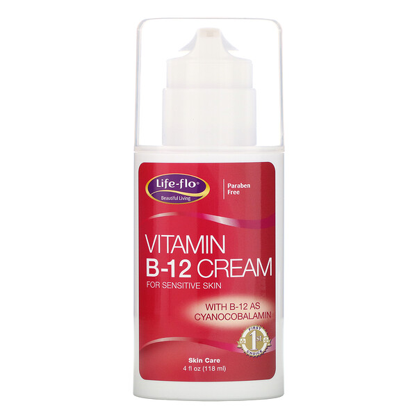 Vitamin B-12 Cream, 4 oz (113.4 g)