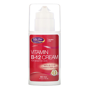 Лайф Фло Хэлс, Vitamin B-12 Cream, 4 oz (113.4 g) отзывы покупателей
