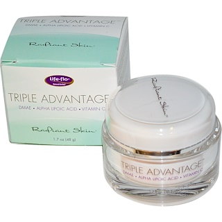 Life Flo Health, Triple Advantage, Radiant Skin, 1.7 oz (48 g)