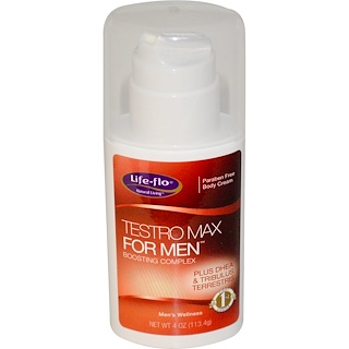 Life Flo Health, Testro Max for Men, Boosting Complex, 4 oz (113.4 g)