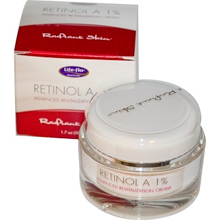 Life Flo Health, Retinol A 1%, Advanced Revitalization Cream, 1.7 oz (50 ml)
