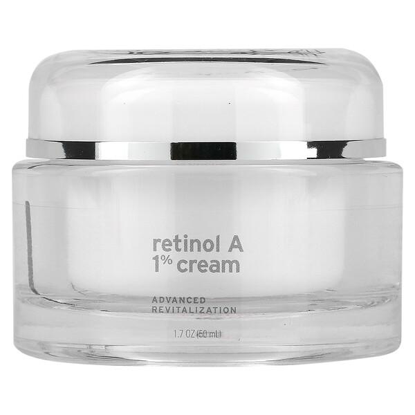 Retinol A 1%, Advanced Revitalization Cream, 1.7 oz (50 ml)