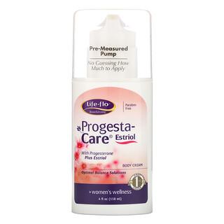 Life-flo, Progesta-Care Estriol, Body Cream, 4 oz (113.4 g)