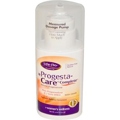 Progesta- Care Полный Уход, Прогестерон 4 унции (113.4 г)