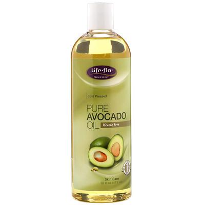 Чистое масло авокадо для ухода за кожей, 473 мл недорого