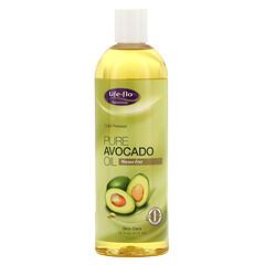 Life-flo, 純鱷梨油,護膚,16 液量盎司(473 毫升)