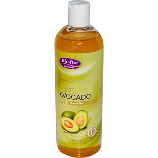 Life Flo Health, Pure Avocado Oil, Skin Care, 16 fl oz (473 ml)