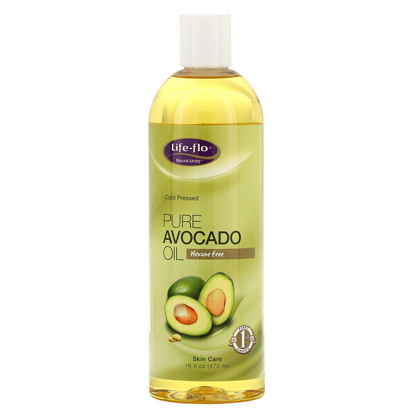 Pure Avocado Oil, Skin Care, 16 fl oz (473 ml)
