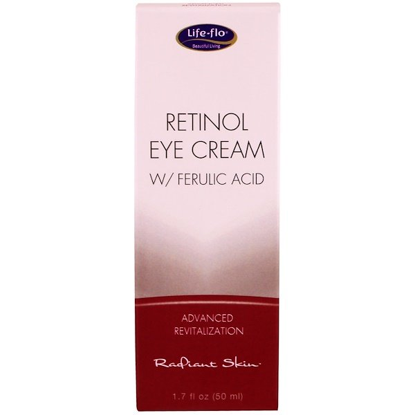 Life Flo Health, Retinol Eye Cream with Ferulic Acid, 1.7 fl oz (50 ml)